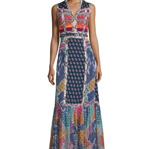 NWT DVF Silk Amabelle Multicolor Dress